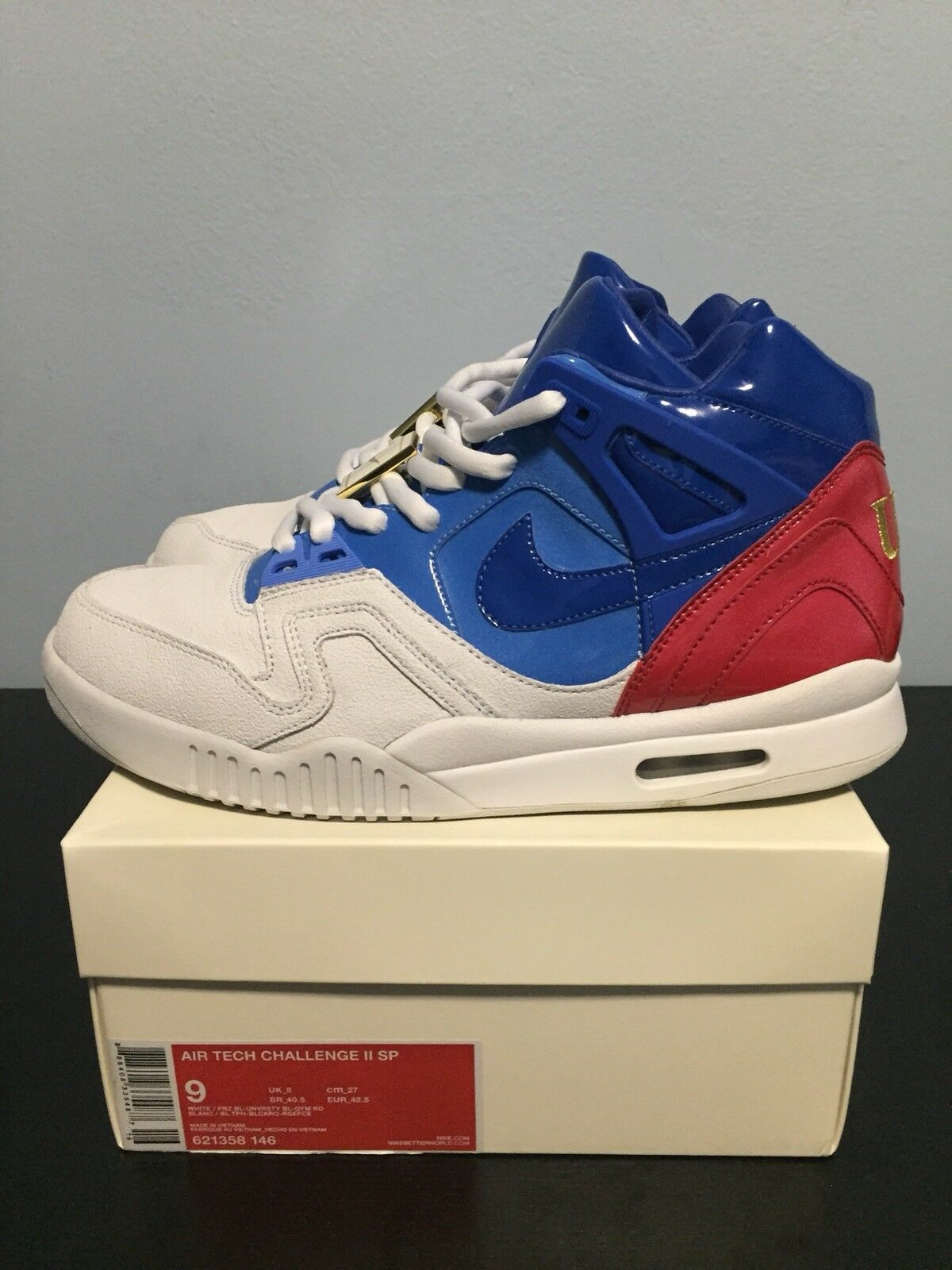 Nike Air Tech Challenge II 2 USA US Open Comfortable