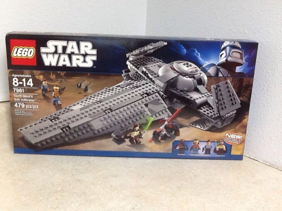 LEGO Guerra de las Galaxias Darth Maul's Sith Infiltrator (7961) retirado