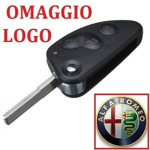 COVER-CHIAVE-GUSCIO-ALFA-ROMEO-147-156-166-GT-3-TASTI-key-shell-TELECOMANDO
