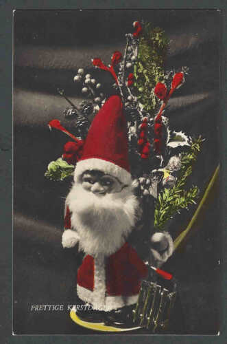 1953 PPC Santa Doll Scarce From The Netherlands