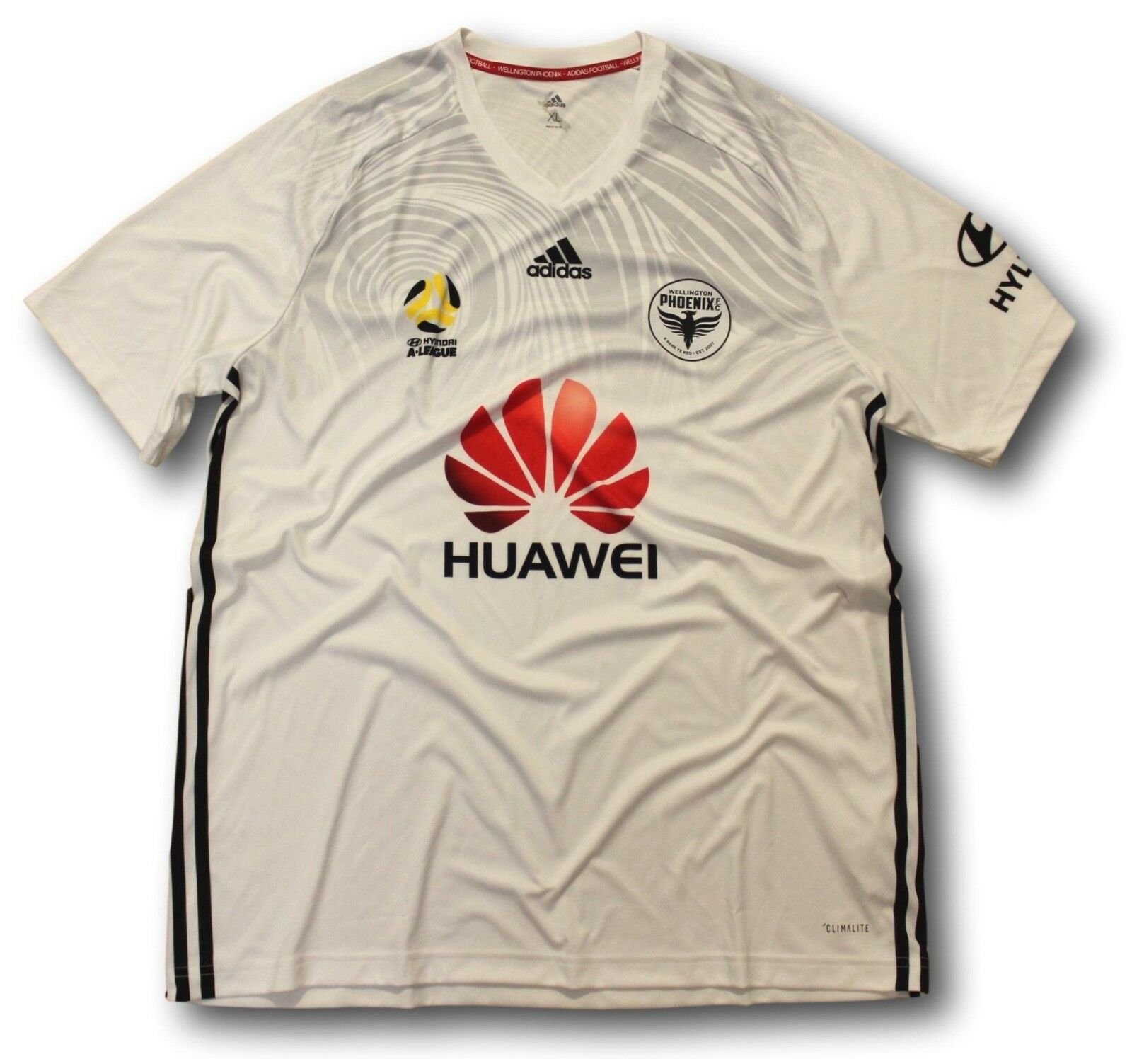 7a593da92 2017-18 Mens A-League Wellington Phoenix Away Soccer Football Shirt Jersey  XL