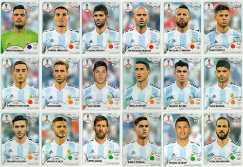 Choose Sticker ARGENTINA Sticker PANINI WORLD CUP RUSSIA 2018