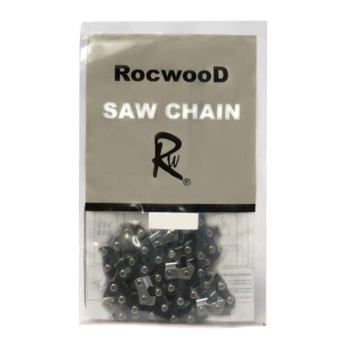 "Rocwood Chainsaw Saw Chain Fits Bosch AKE40 AKE40S 16/"" 2 x Two"