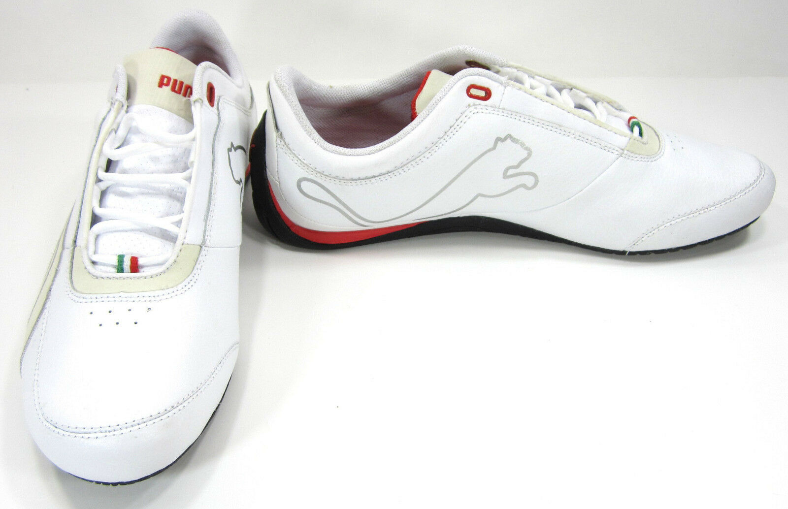 Puma Shoes Drift Cat IV 4 SF CR Ferrrari White/Red  Size 9.5