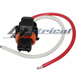 image is loading alternator-repair-plug-2-pin-wire-pigtail-harness-