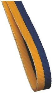 10 x Purple And Gold Medal Ribbons Lanyards with Gold clips 22mm wide