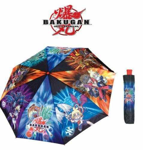 Bambini Ragazzi MINI Ombrello Bakugan per bambini