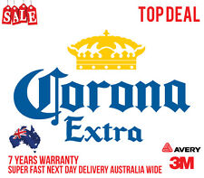 CORONA STICKERS DECALS. FRIDGE, CAR OR BAR STICKERS GREAT QUALITY