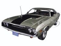 1970 Dodge Challenger R/t Hemi 426 A4 Silver Poly 300pcs 1/24 Acme A2406003