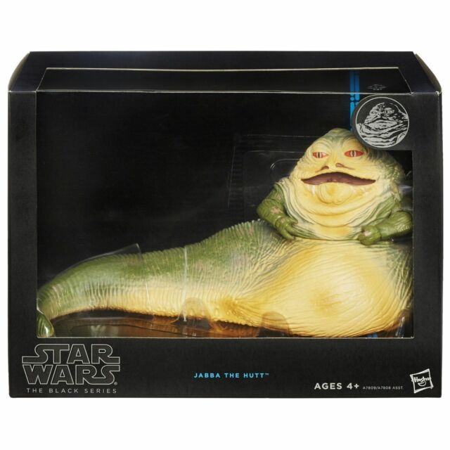 STAR WARS BLACK SERIES 6-INCH DELUXE JABBA THE HUTT ACTION FIGURE