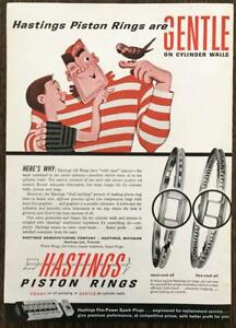 1961-Hastings-Piston-Rings-Print-Ad-Gentle-on-Cyclinder-Walls