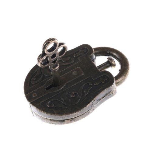 Vintage Metal Cast God Lock Key Puzzle Toy IQ/&EQ Mind Brain Teaser Kid Gift BL
