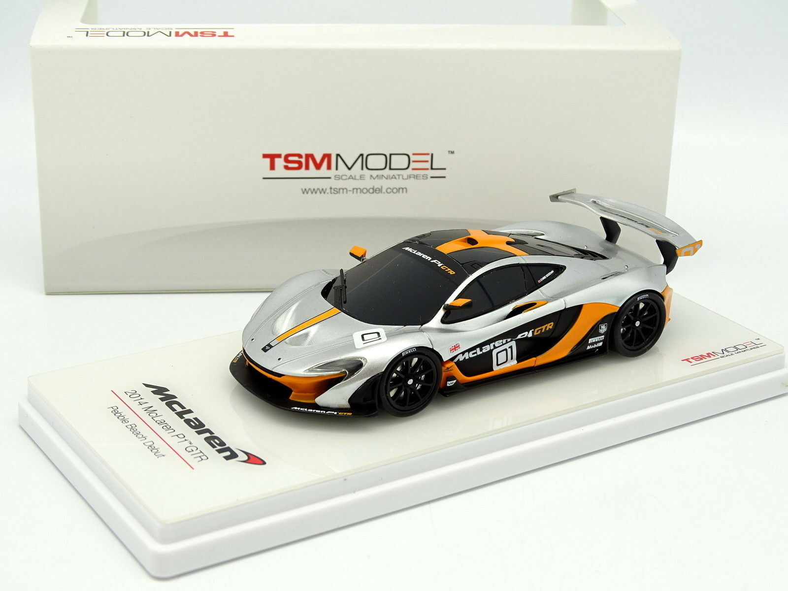 True Scale Model TSM 1 43 - McLaren P1 GTR Pebble Beach 2014
