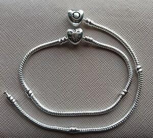 braccialetto pandora chiusura cuore