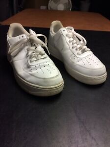 Details about Mens White Nike Air Force 1 Shoes Size 11.5 (315122-111)