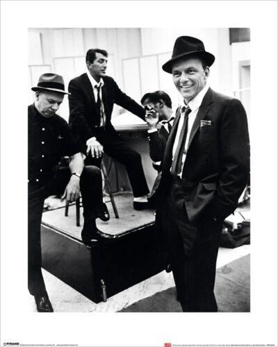 Sammy Davis Jr and Frank Sinatra 40x50cm Time Life Mini Print Dean Martin