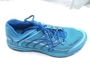 Merrell-size-9M-Mix-Master-Move-Glide-blue-running-womens-ladies-athletic-shoes