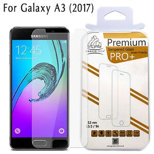 Galaxy-A3-2017-Ecran-Protecteur-Authentique-Gorilla-Tech-Brand-Trempe-Film