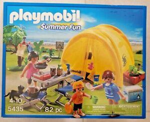 New Playmobil 5435 - Family Camping Trip | eBay