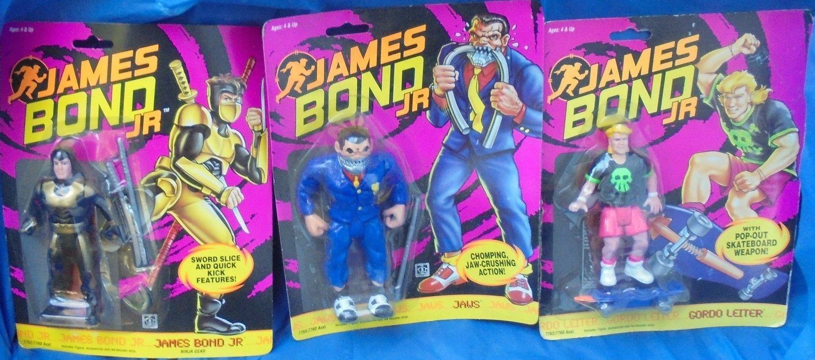 James bond jr moc mip - action - figur viel hasbro kiefer gordo leiter ninja - ausrüstung bond