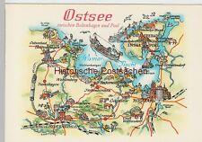 (87139) AK Wanderkarte, Landkarte -Ostsee zw. Boltenhageb u. Poel- 1983
