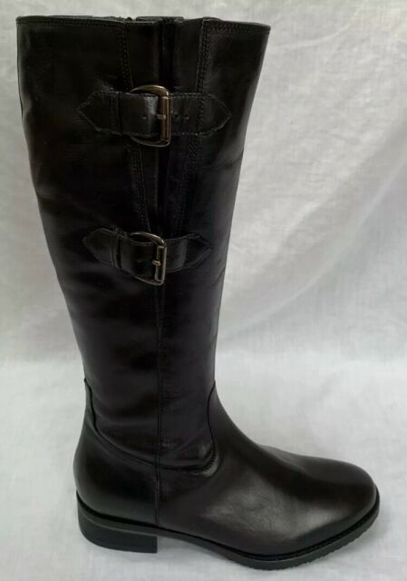 Ladies Clarks Formal Long BOOTS Limpet