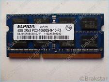 70446 ELPIDA 4GB 2RX8 PC3-10600S-9-10-F2 EBJ41UF8BCS0-DJ-F