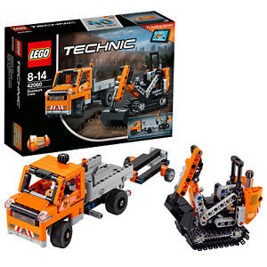 LEGO Technic 42060 Straßenbau-Fah<wbr/>rzeuge Roadwork Crew N1/17