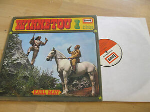 LP-Winnetou-I-Karl-May-2-Folge-Vinyl-EUROPA-JUGENDSERIE-E-243