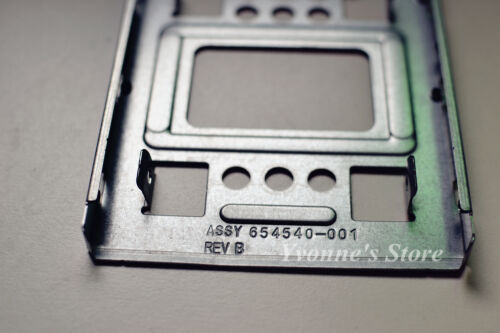 """Original New HP 654540-001 2.5 SSD to 3.5/"""" SATA Adapter Tray SAS HDD Bracket Bay"""