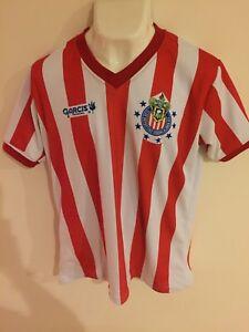 hot sale online 9ba48 378d6 Details about Jersey Retro Chivas de Guadalajara Garcis