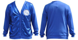 Zeta Phi Beta Sorority Cardigan Sweater Blue Lightweight Cardigan