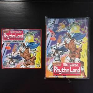 """""""Brand new 16 Bit Rhythm Land """" / MD Sega Mega Drives Japanese version"""