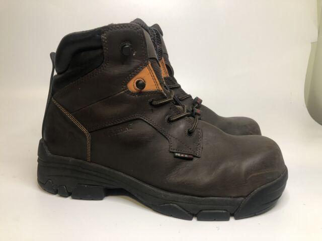 Steel Toe Work BOOTS 10 Eee (extra Wide