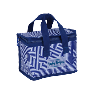 Lunch-Cooler-Bag-BLUE-Tote-Easy-Carry-Picnic-Food-Storage-Thermal-Folded-Student
