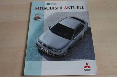 Zielsetzung 124667) Mitsubishi - Modellprogramm Inkl. Eclipse - Aktuell 01/1996 Zu Verkaufen