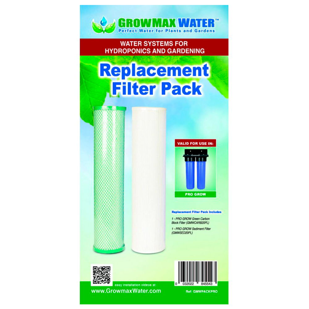 Pack di Filtri di ricambio GrowMax Water Pro Grow (2000 L h)