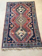 """Oriental Style Wool Rug 5'2"""" X 3'4"""""""