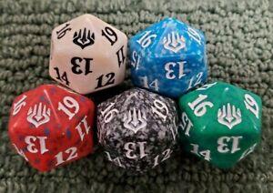 MTG Magic the Gathering Throne of Eldraine Green Spindown Die