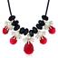 Fashion-Jewelry-Crystal-Choker-Chunky-Statement-Bib-Pendant-Women-Necklace-Chain miniature 160
