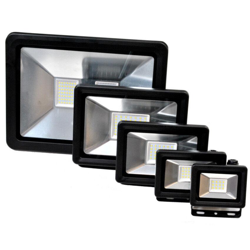 LED Außenstrahler Led-SMD  230 V Flutlicht Scheinwerfer 10 - 100W Außen Strahler