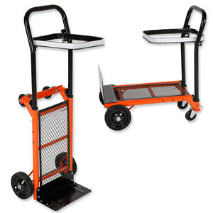 diable chariot pliable sac brouette charge max 80kg ebay. Black Bedroom Furniture Sets. Home Design Ideas