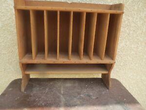 Meuble rangement casiers bibliothèque ancien bureau usine mobilier