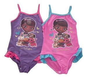 054c900c4dcbc Image is loading Girls-Swimming-costume-Swimsuit-Disney-Doc-Mcstuffins-2-