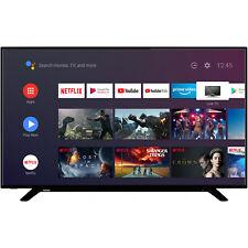 "SMART TV LED TOSHIBA 55"" POLLICI UHD 4K 2160p INTERNET ANDROID TV WI-FI DVB-T2"