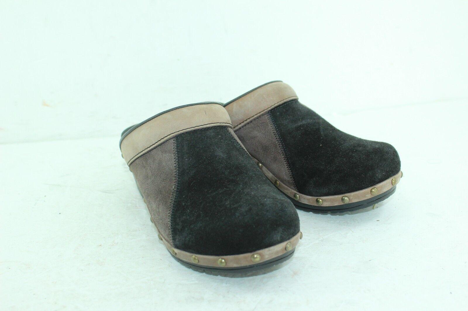 Sanita Professional Taille 38 mules marron noir cuir femme  2