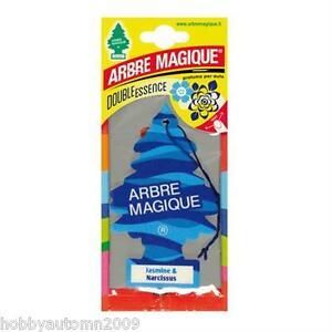 10-ARBRE-MAGIQUE-JASMIN-E-NARCISUS-DEODORANTE-PROFUMO-PER-AUTO-E-CASA