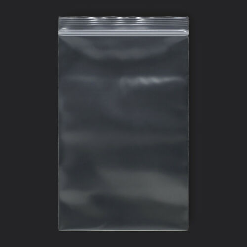 """100 Pack 4/""""x6/"""" Reclosable Clear Plastic Poly Zipper Bags Super Heavy Duty 8 Mil"""