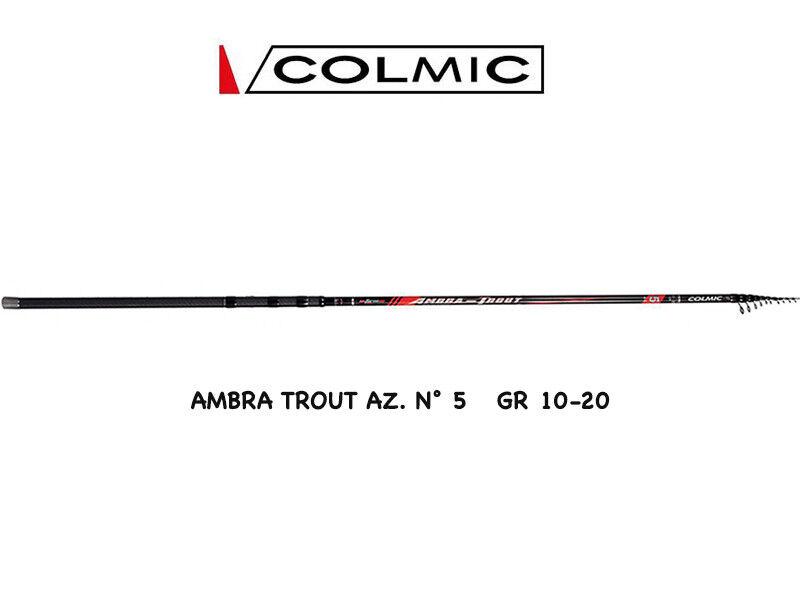 CANNA COLMIC AMBRA LAGO TROUT 5 TROTA LAGO AMBRA MT 4,40 AZ 5 GR 10-20 4fa66b