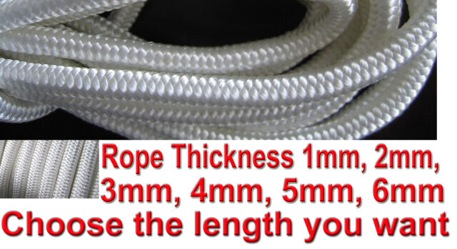 Nylon Braided Cord Rope Utility Rope Utility Rope Nylon Purlon Para cord Parcord